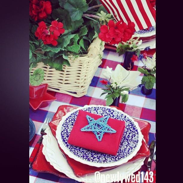 DIY Patriotic Day Decor