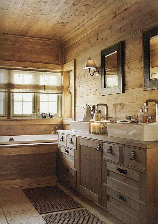Elegant Rustic Bathroom