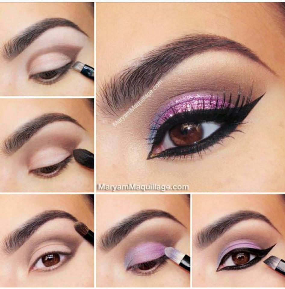 Exotic Glitter Cat Eye Makeup Tutorial