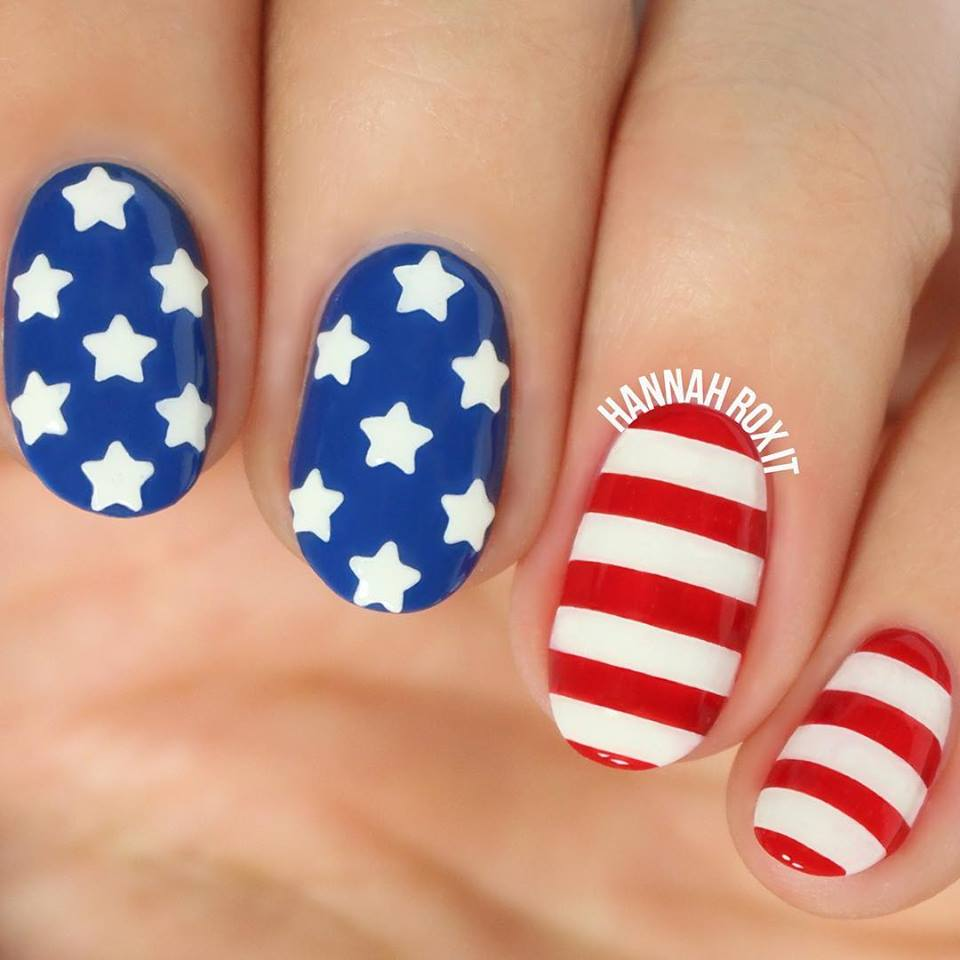 Fabulous 4th July Nails