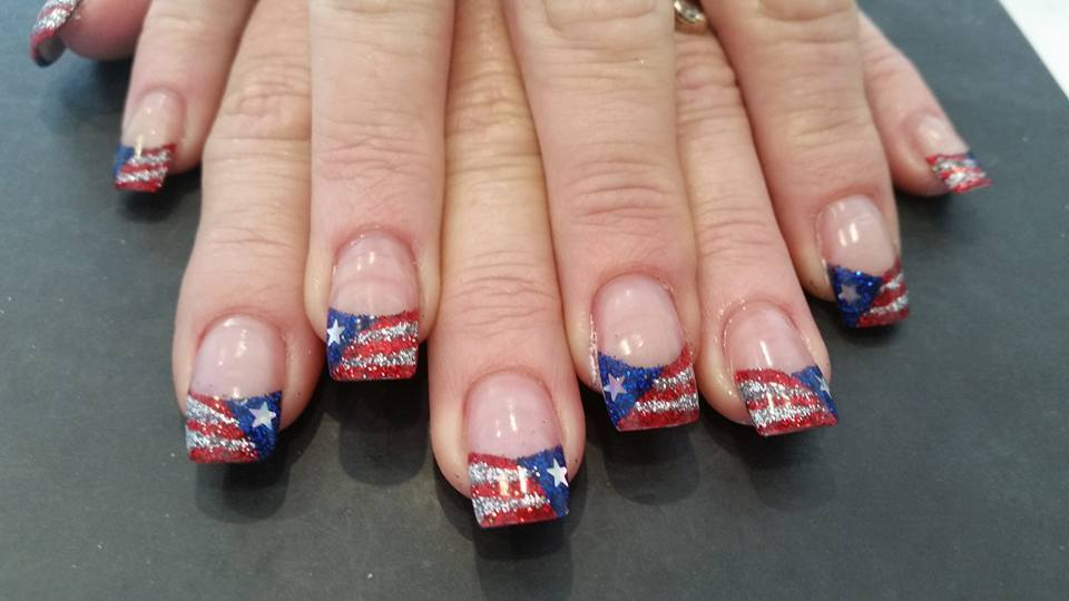 Fantastic 4th July Nails