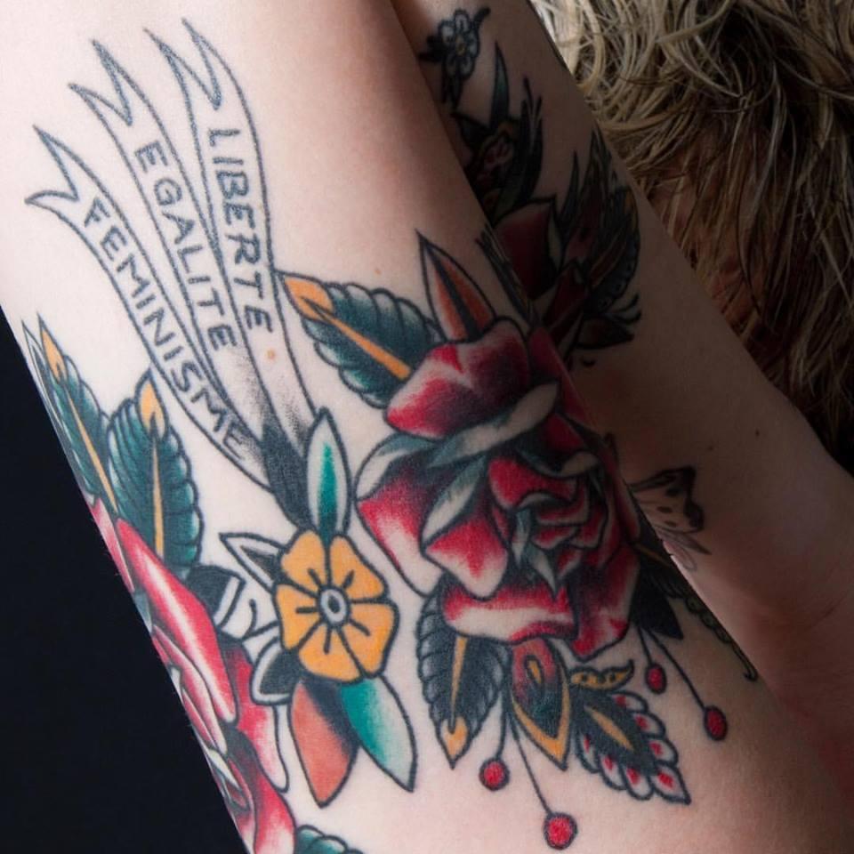 Feminism Beautiful Tattoo