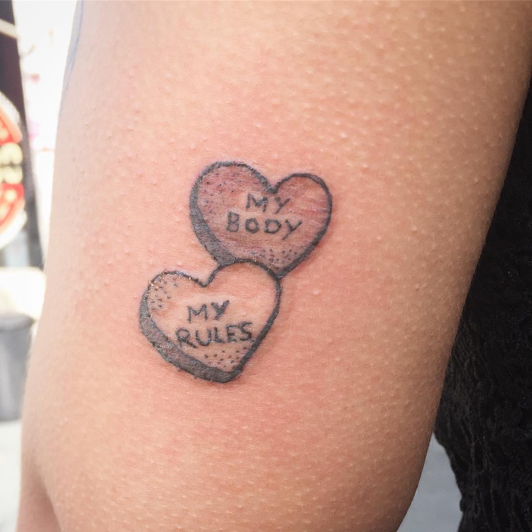 Femme Power Tattoo
