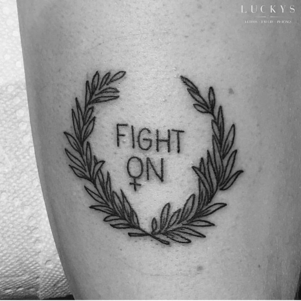 Fight On Tattoo Idea