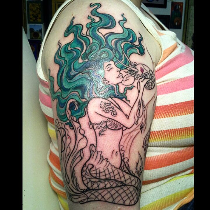 Finest Mermaid Tattoo