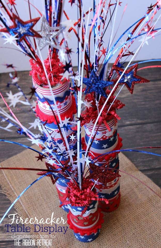 Fire Crackers For Table Centre Piece
