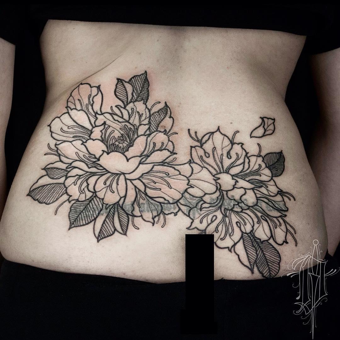 lower back tattoo 68