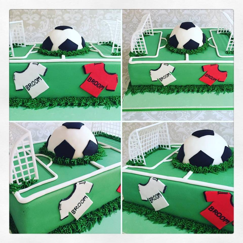 Football Theme Fathers Day Cake