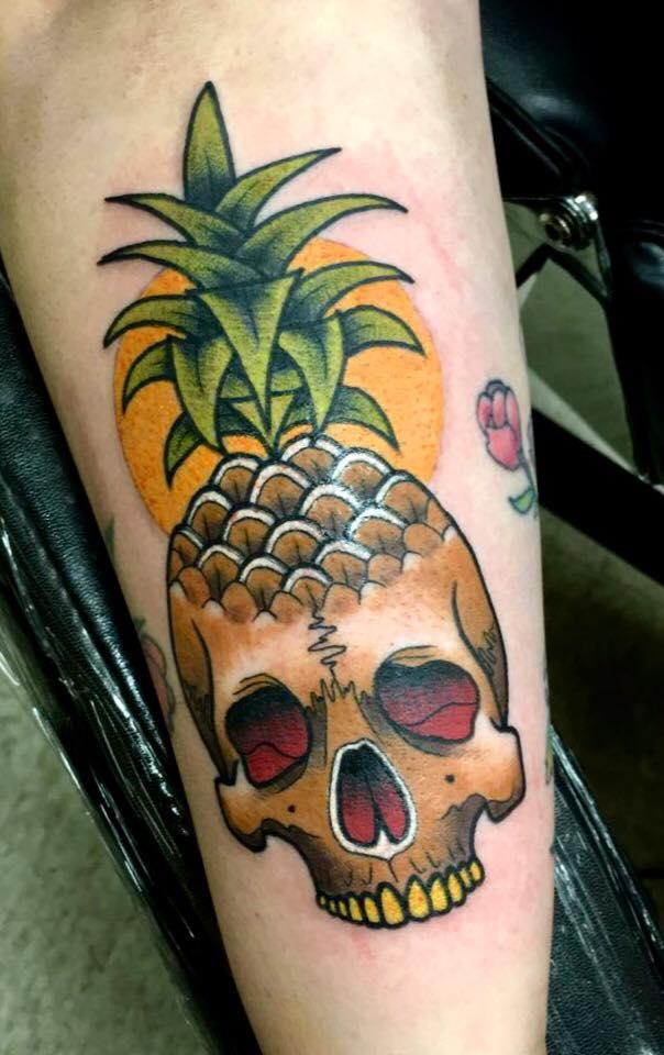 Funny Skull Pineapple