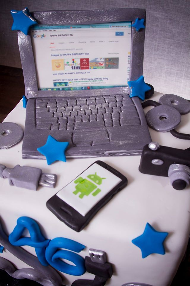 Gadget Cake For Fathers Day