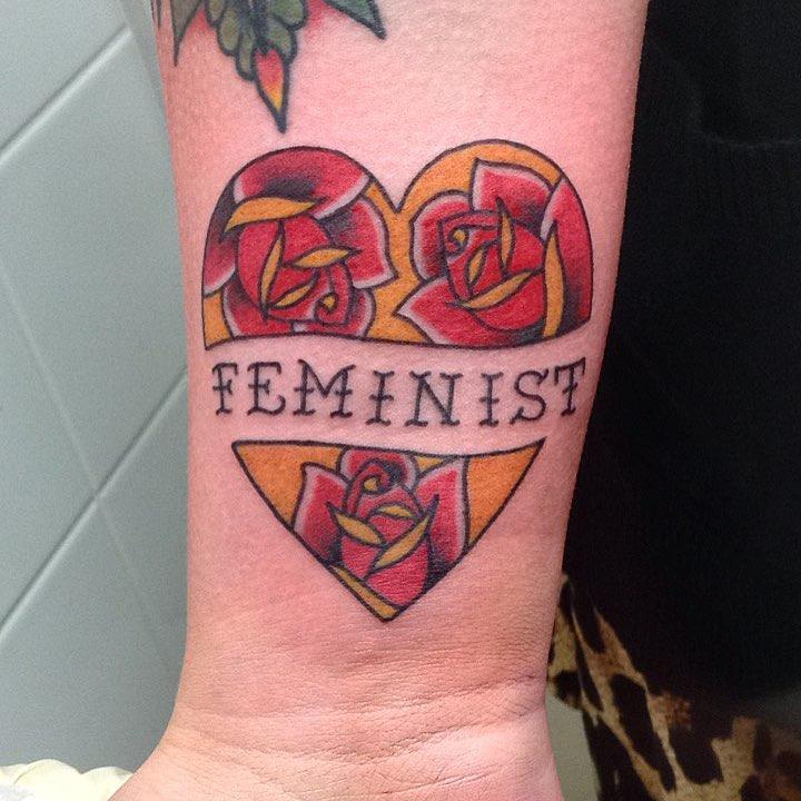 Girl Power Tattoo