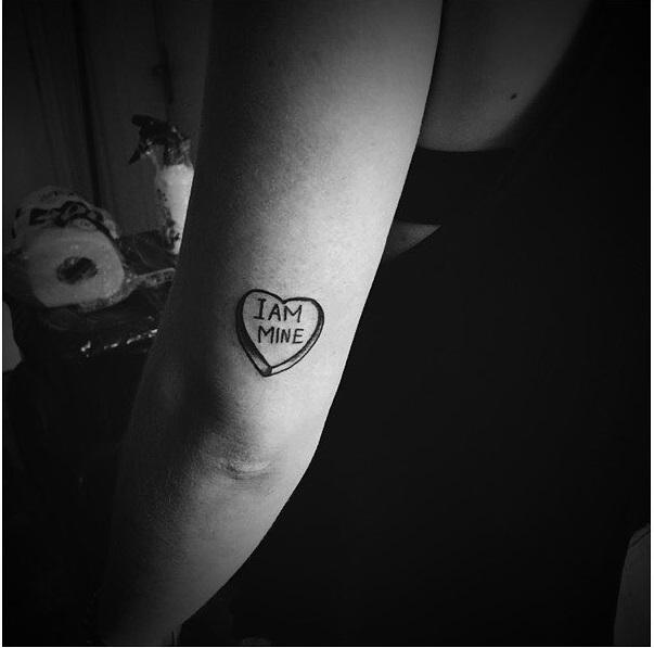 Heart On Arm