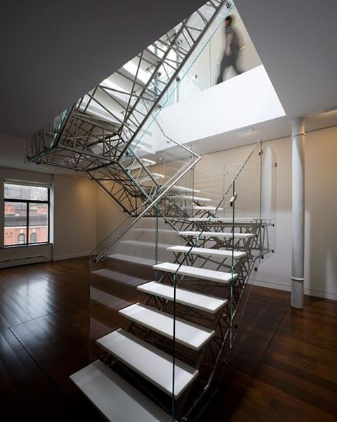 Caliper Studio Genetic Stair: 56 Best Contemporary Stairs Idea For Modern And Fancy Houses