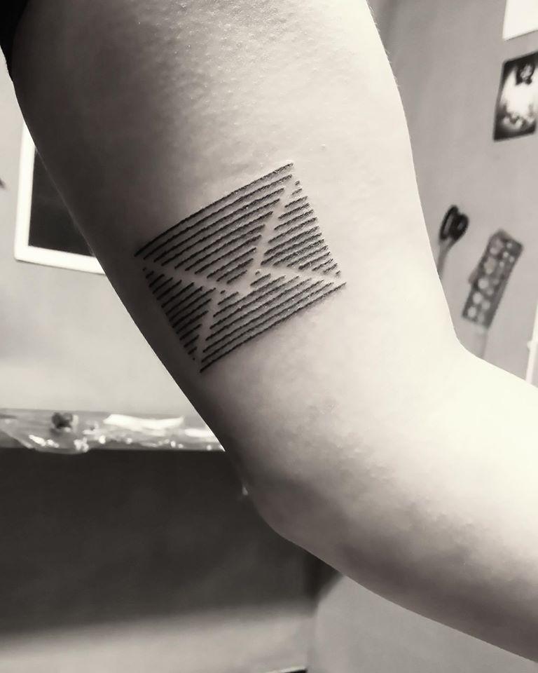 Letter Tattoo Idea