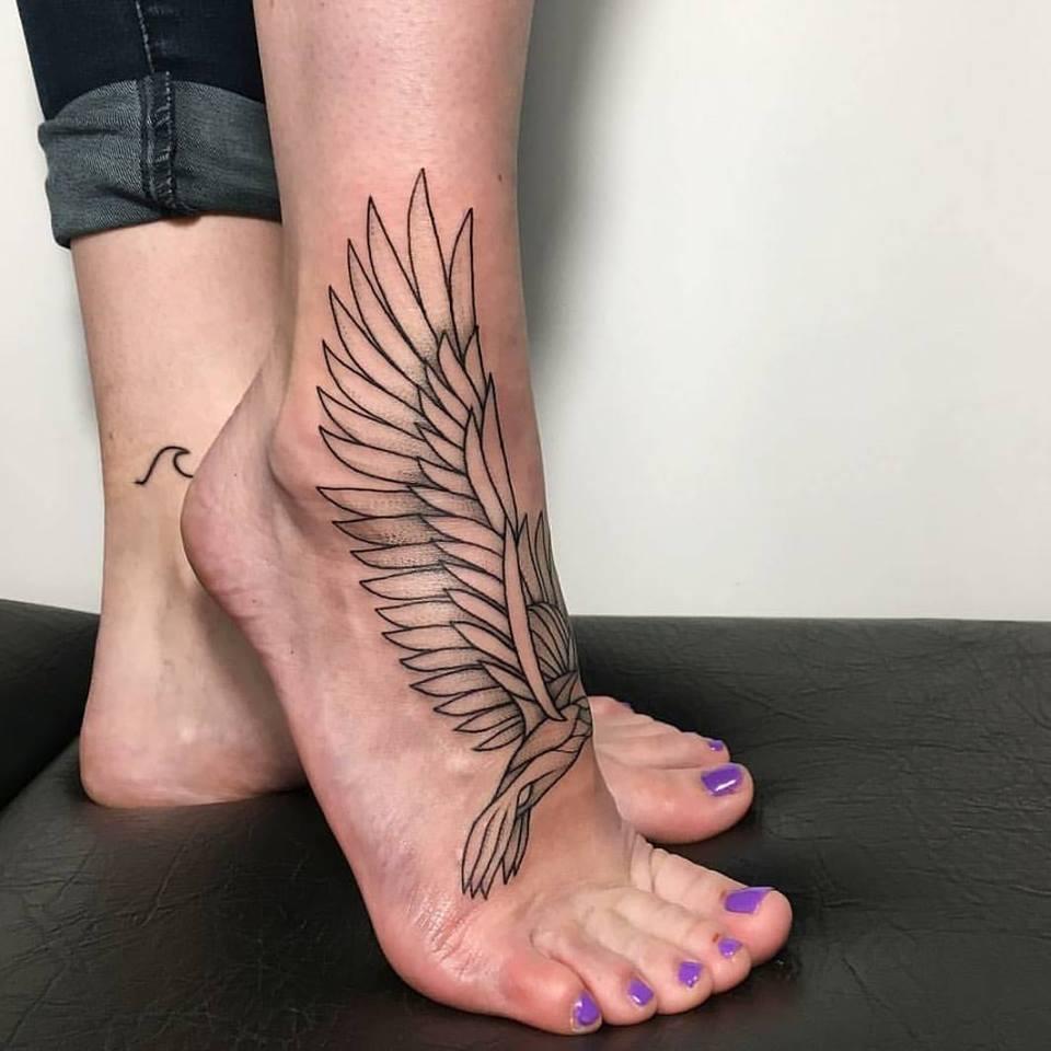 Line Work Tattoo Idea