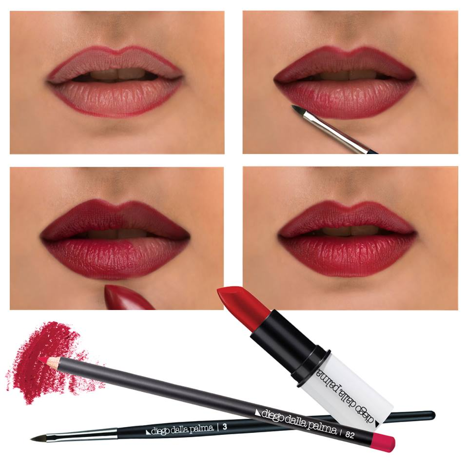 Lip liner tutorial idea 6 blurmark lip liner tutorial idea 6 baditri Image collections
