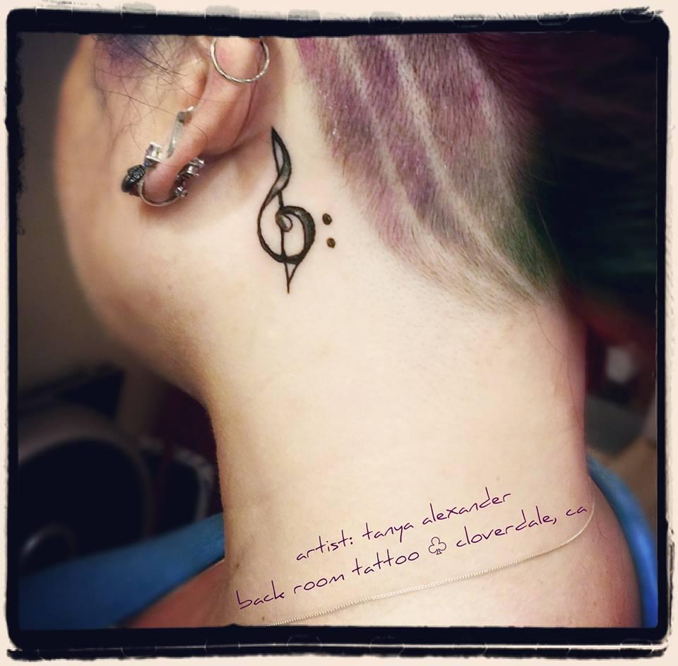 Little Treble Tattoo