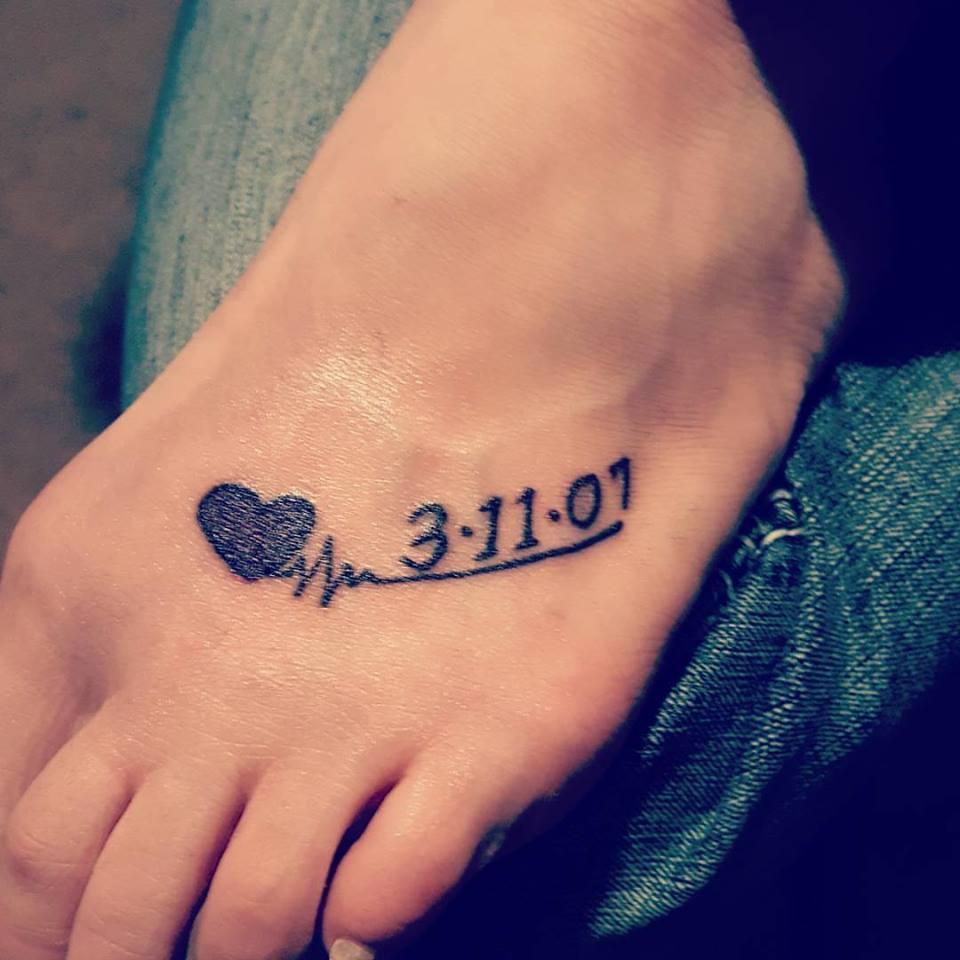 Lovely Memorable Tattoo
