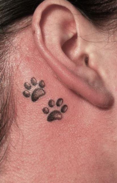 Meow Paws Tattoo
