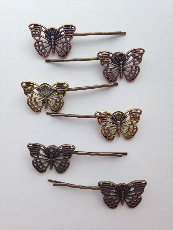 Nature Inspired Butterfly Pins
