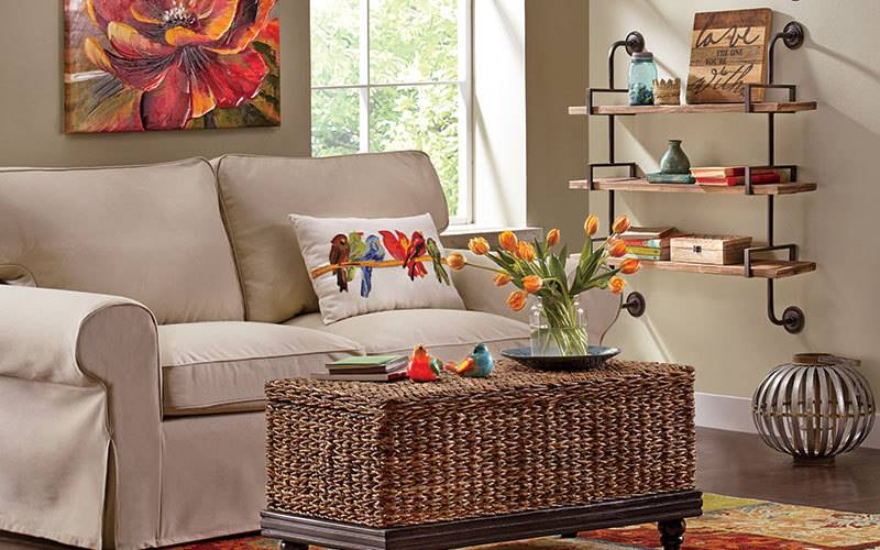 59 easy spring decoration ideas for every part of the home for Nice living room design