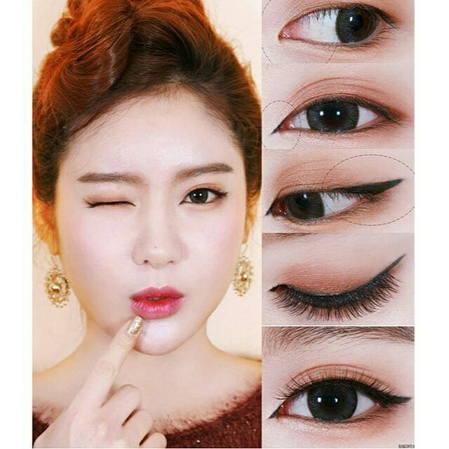 Asian hooded eye makeup
