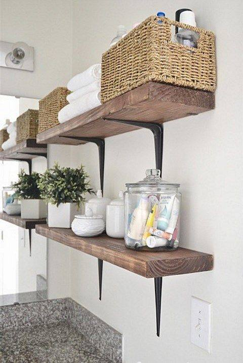 72 Simple Diy Bathroom Storage Ideas That Are Worth Trying