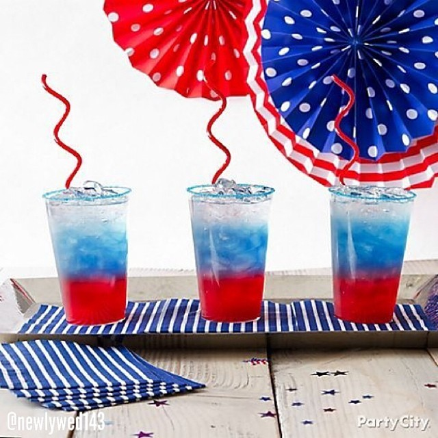 Patriotic Day Drinks