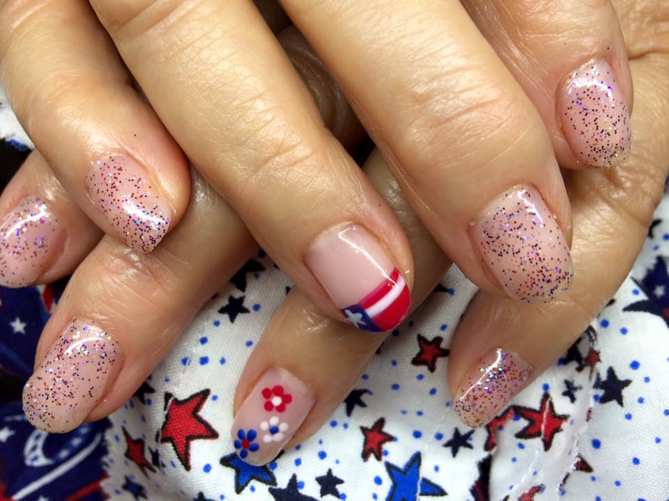 Patriotic Day Nails