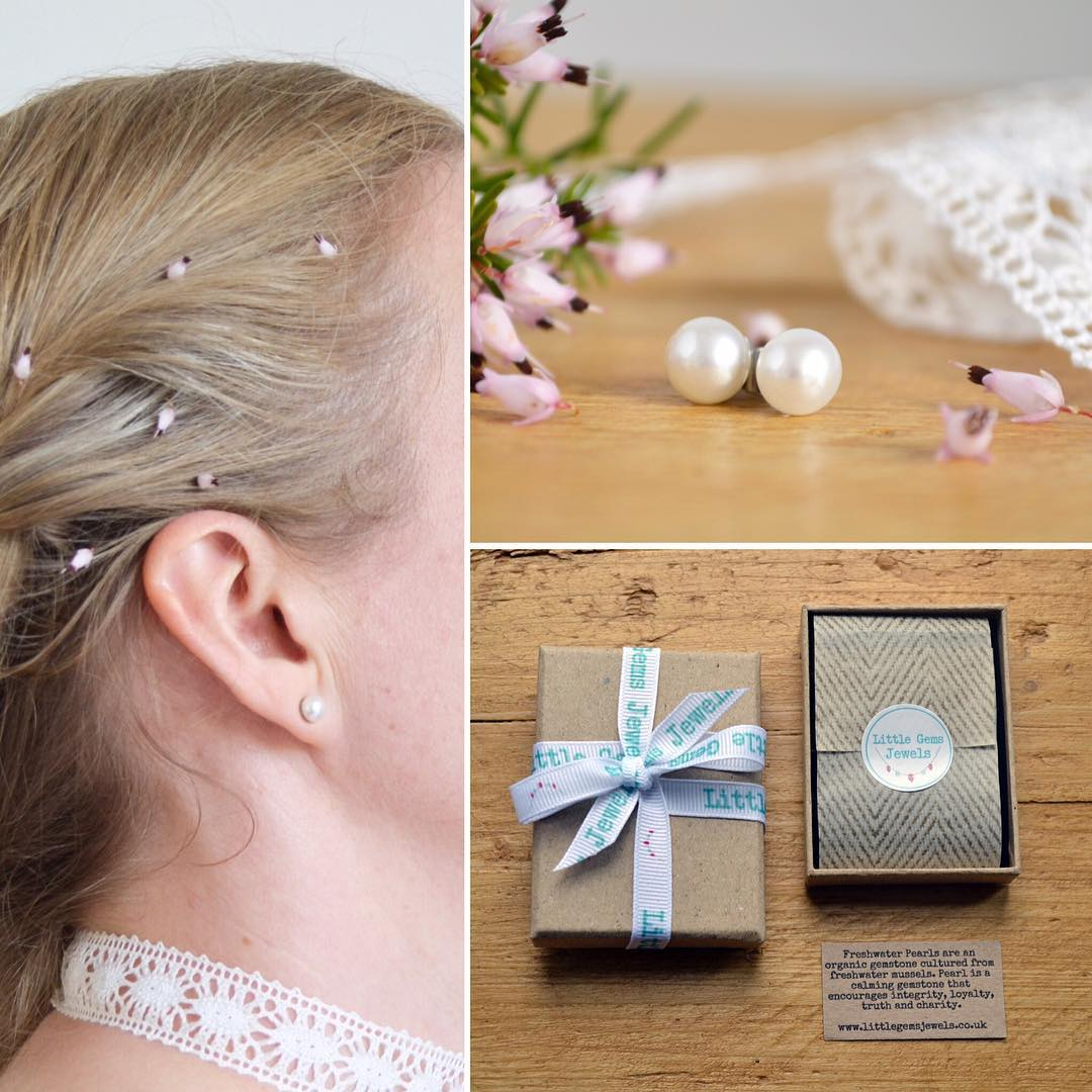 Pearl Studs Hair Accessory