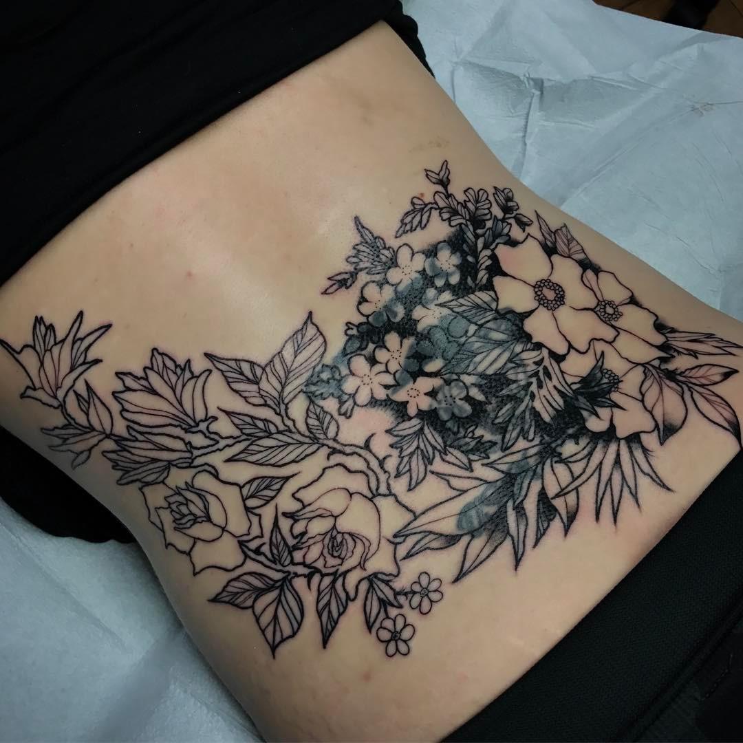 lower back tattoo 58