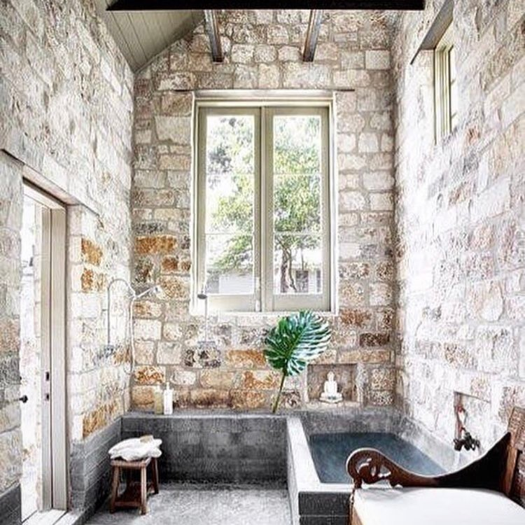 Rustic Chic Bathroom Idea