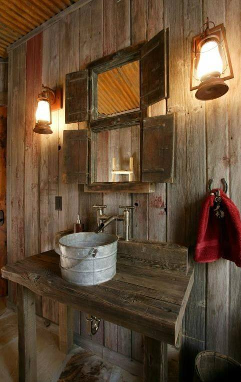 Rustic Decor Idea