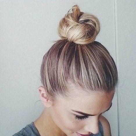 Bun Hairstyles For Short Hair Archives Blurmark