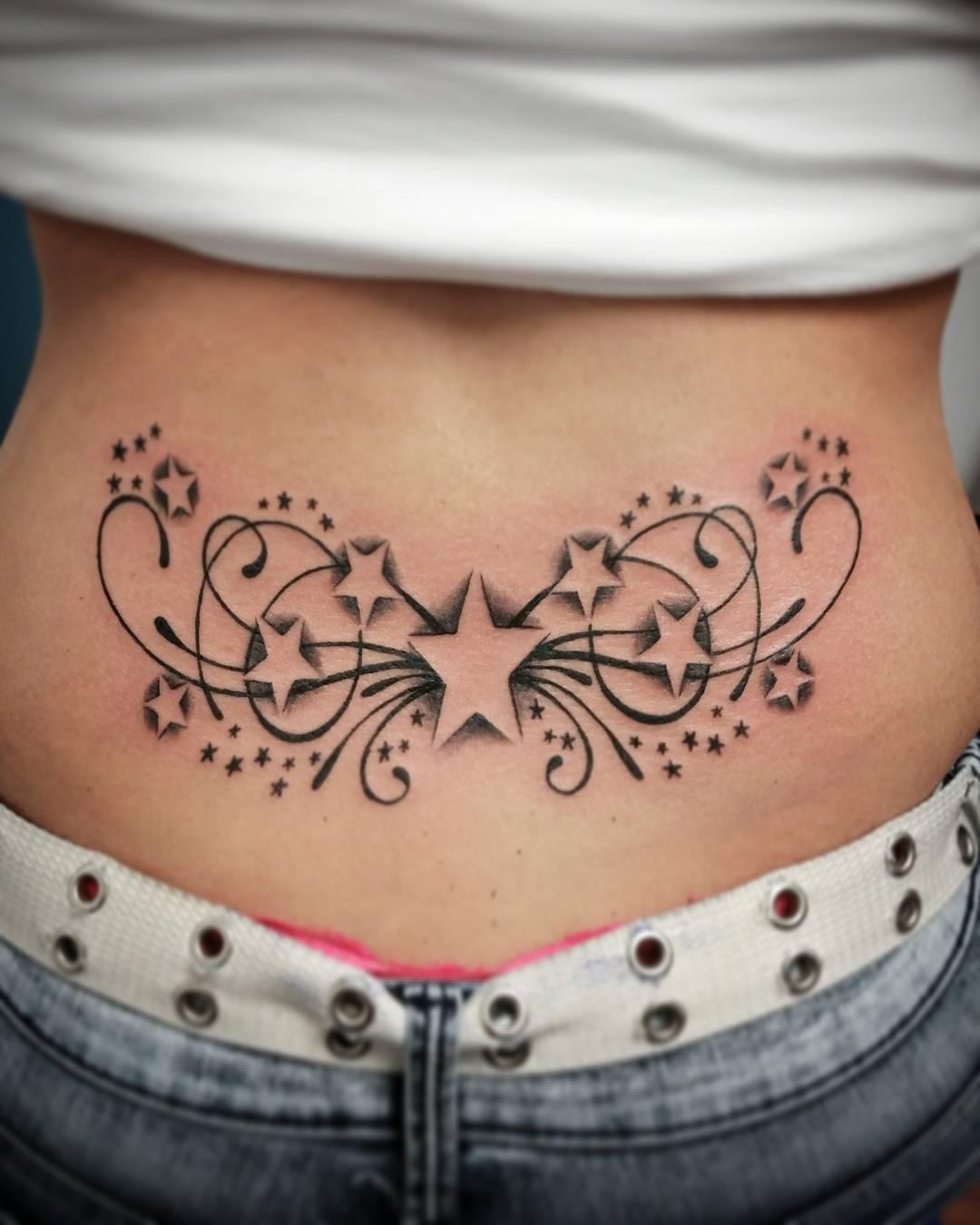 lower back tattoo 6