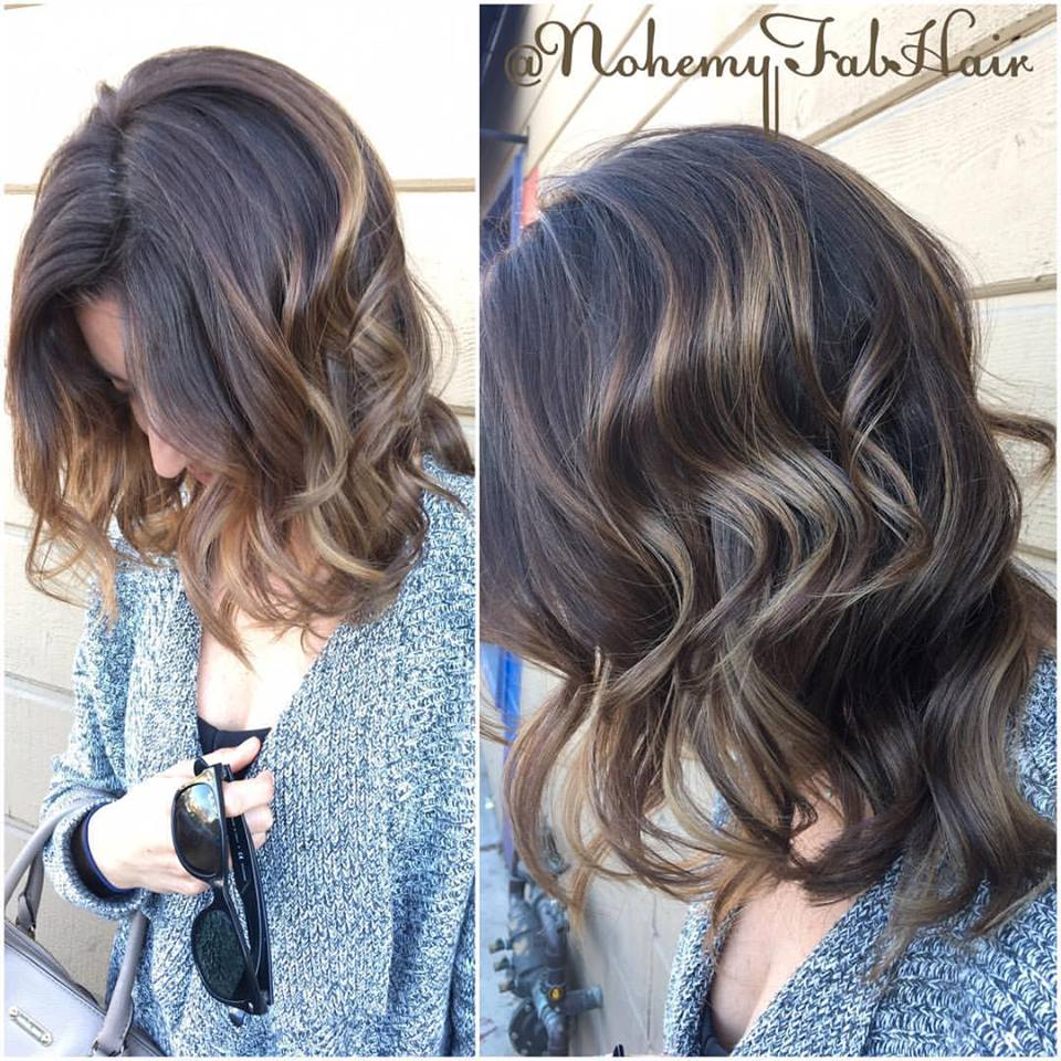 Tiger Eye Hair Color Highlights