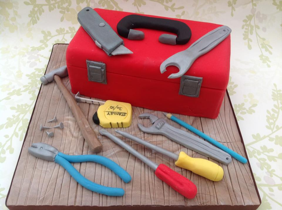 Tool Box Cake Idea For This Father's Day