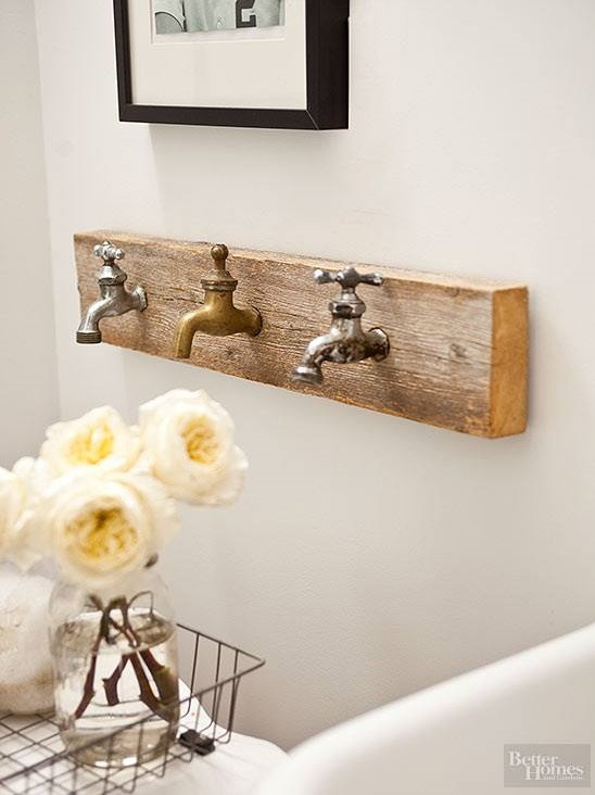 Vintage Tap Decor Idea