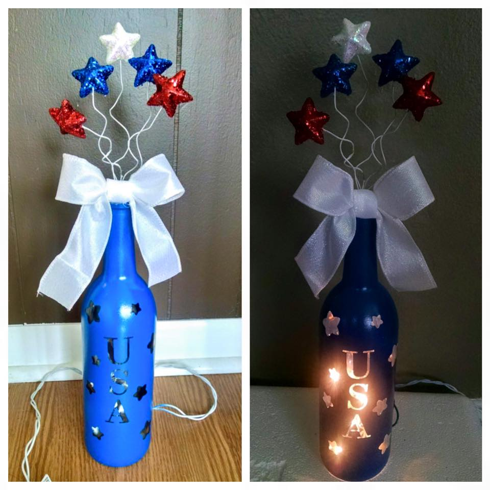 Wine Bottle Used For Decoration