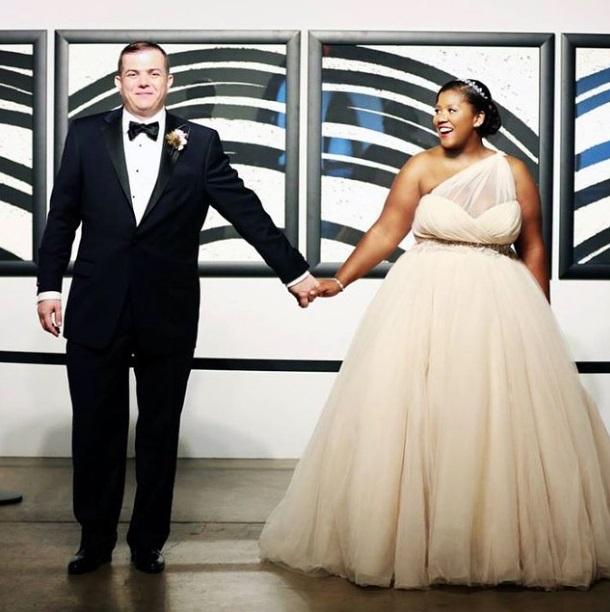 Amazing Plus Size Wedding Dress