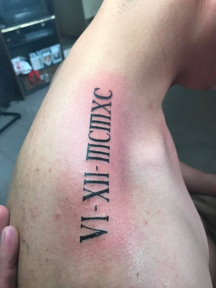 45 Unique Roman Numerals Tattoo That Speaks More Than Just Numbers