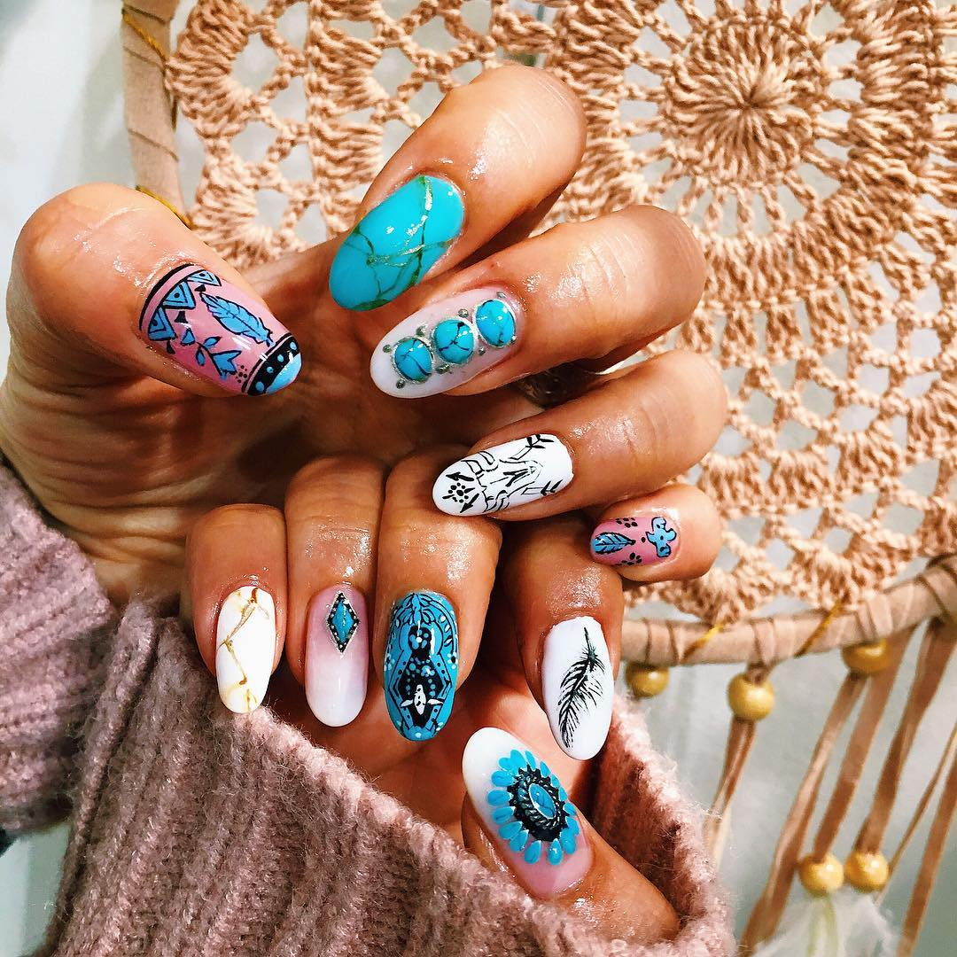 49 Smart Boho Chic Wedding Nails Ideas For Your Special Day