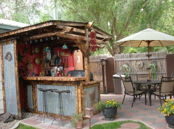40 environment friendly outdoor kitchen ideas to inspire you Rustic outdoor kitchen designs