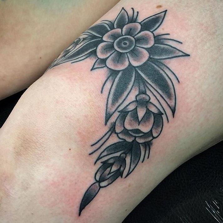 50 Inspiring Knee Tatt...