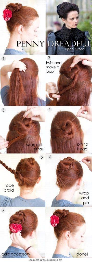Hairstyle Tutorial Braided Lower Bun Updo