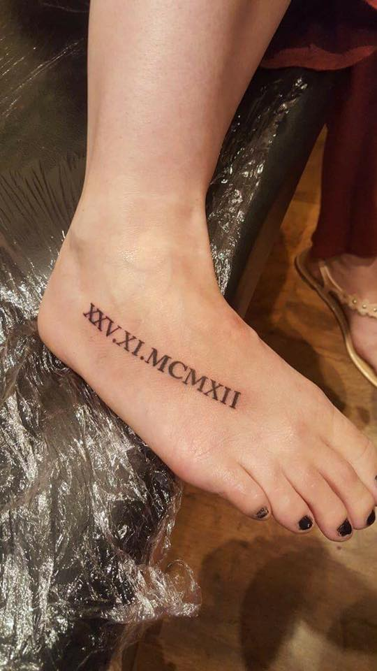 45 unique roman numerals tattoo that speaks more than just