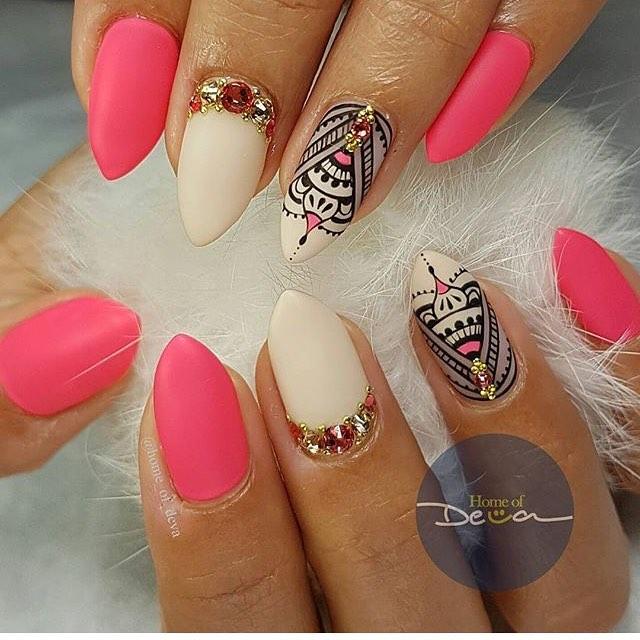 Boho Nail Art - Best Nails Art Ideas