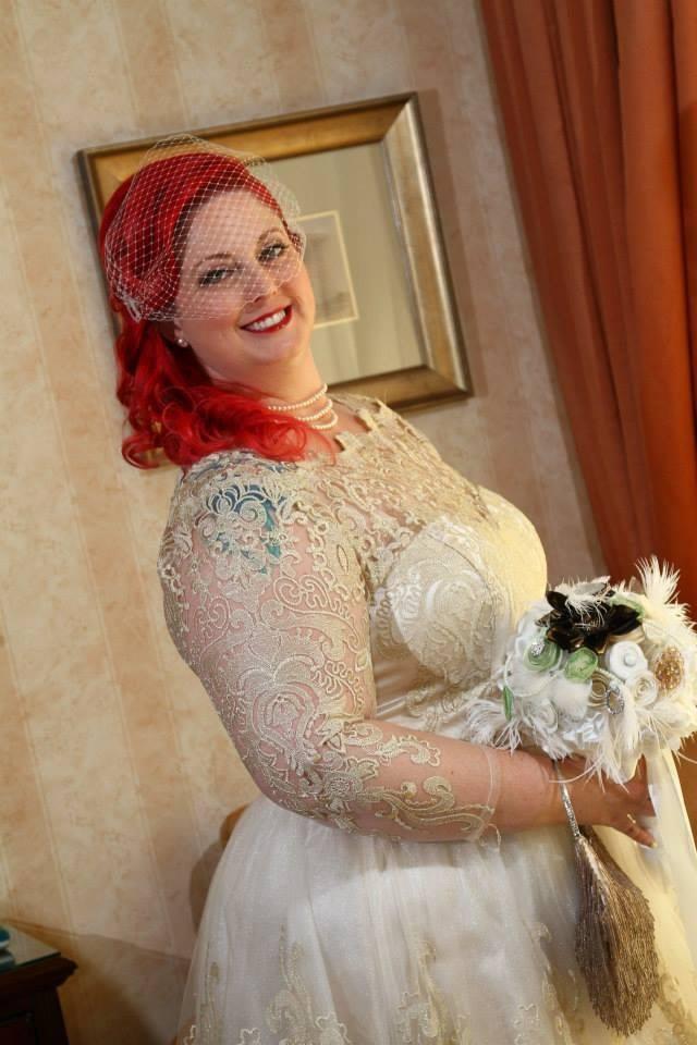 Fabulous Plus Size Vintage Wedding Dress