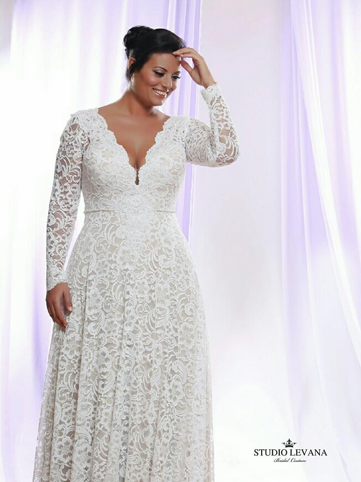 Impressive Wedding Dress For Plus Size Bride