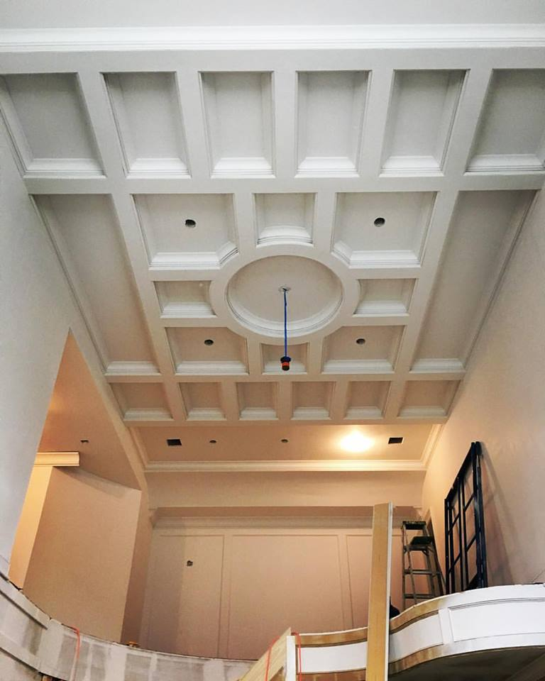 Foyer Tray Ceiling : Foyer ceiling design energywarden